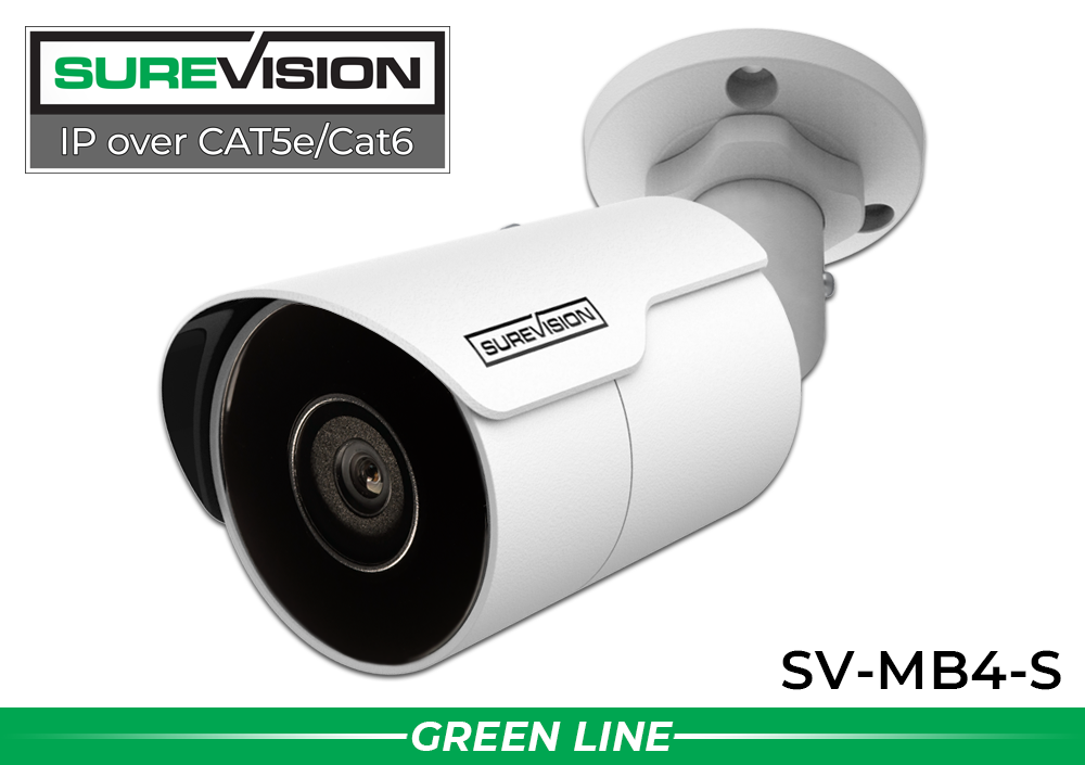 4MP Bullet POE IP Network Camera with Fixed Lens