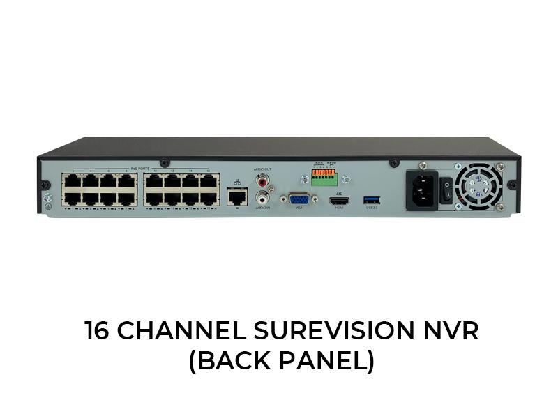 NDAA 16 Channel 4K Network Video Recorder