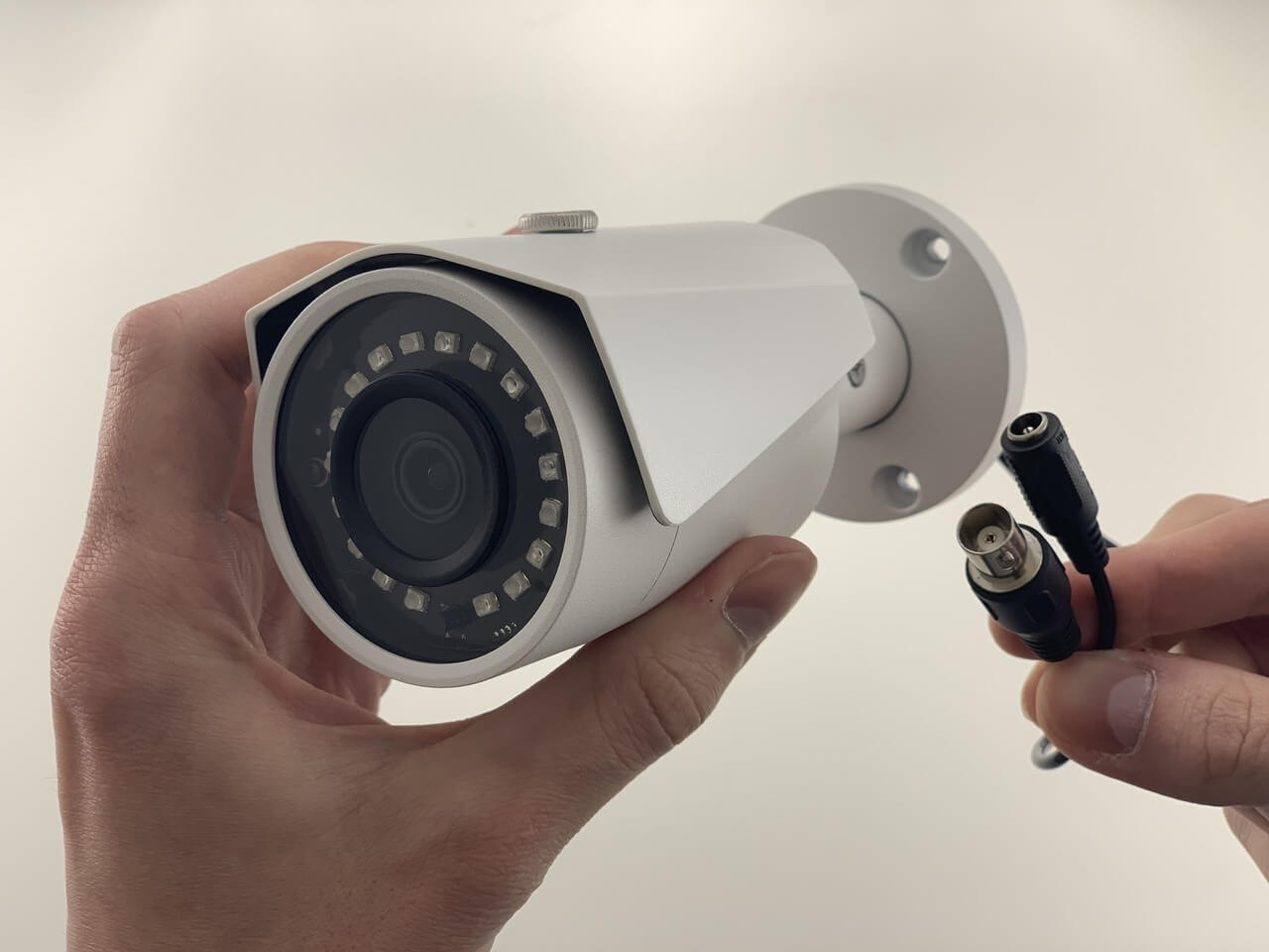 HD Over Coax 8 Megapixel 4K Bullet Security Camera with 100 Foot Night Vision (White)