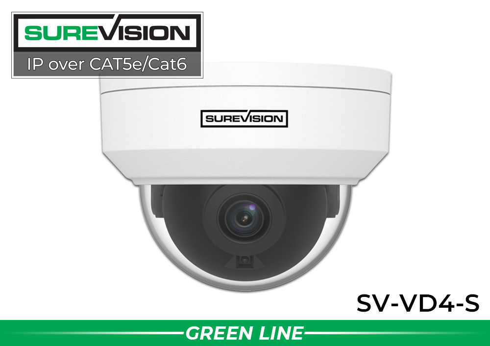 IP Security Camera with 4MP Definition and 2.8mm Lens