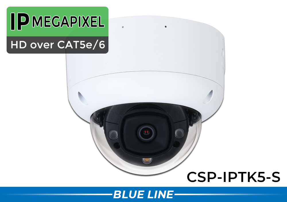 5MP IP Camera with 2-Way Audio