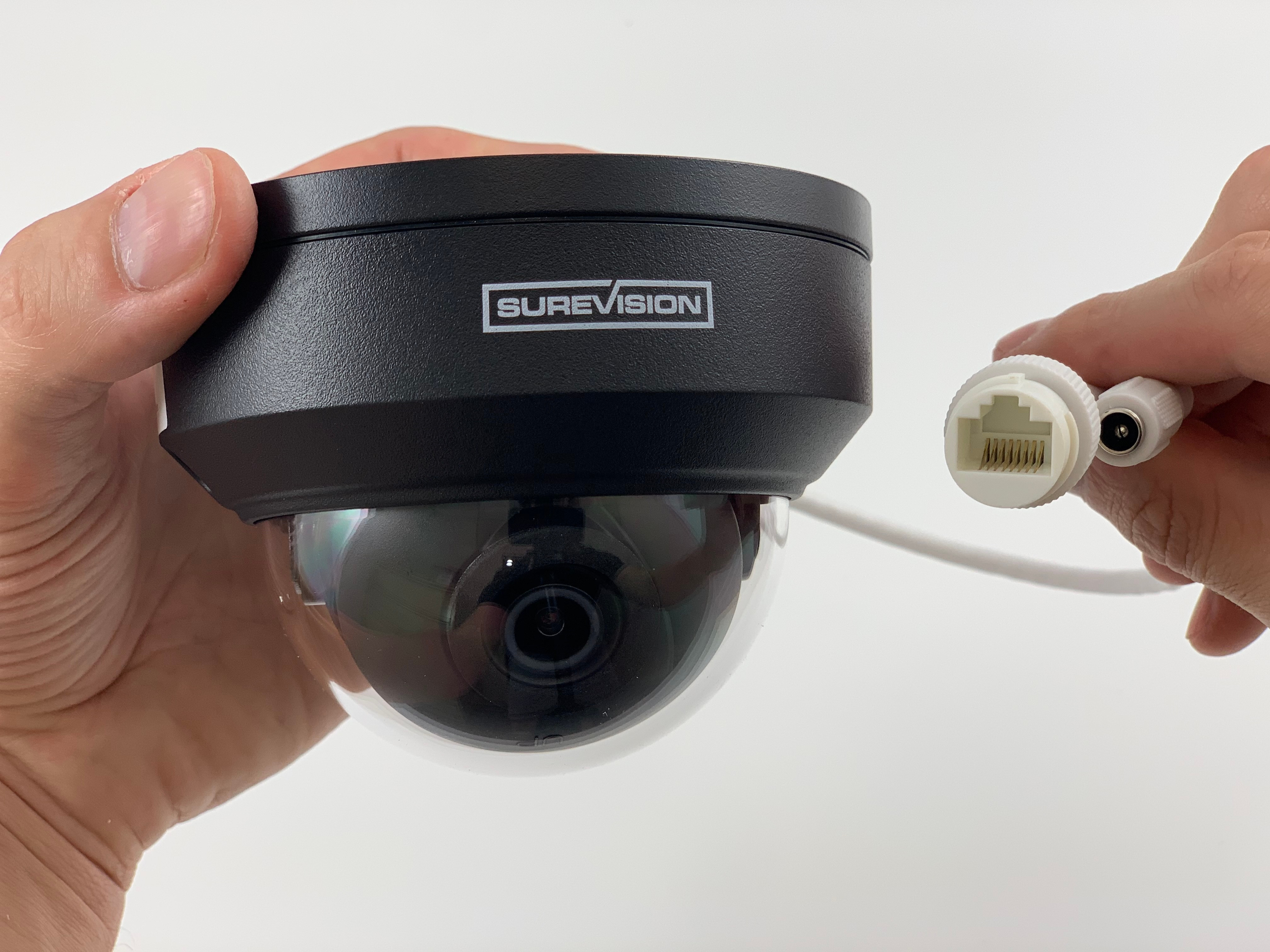 Vandal Dome IP Security Camera with 4MP Definition and 2.8mm Lens