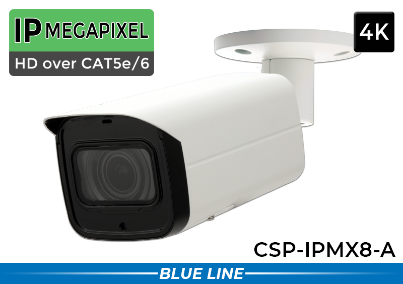 POE IP Security Camera System with 16 4K (AI) Security Cameras / 16POEMX8-A