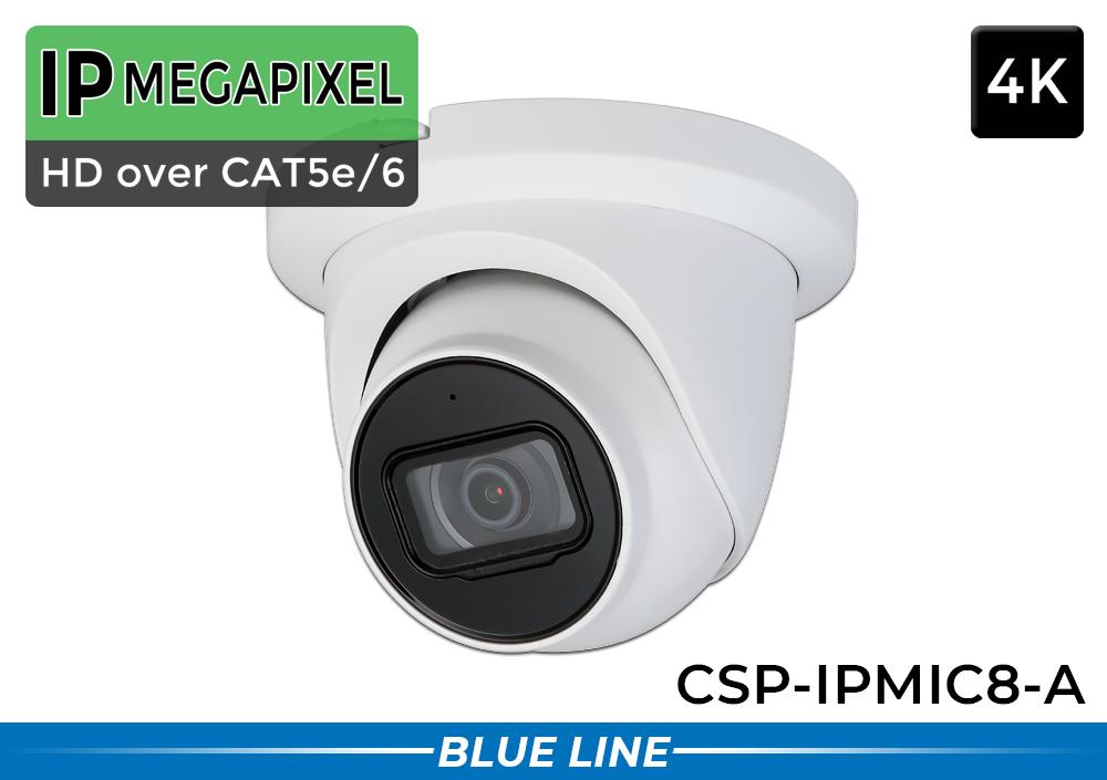 32 Camera 4K AI IP CAT5 Network Camera System with Audio / 32NVRMIC8-A