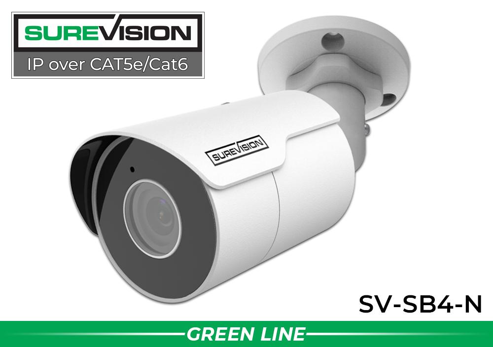 Infrared Bullet 24 Camera 4MP IP Video Recording System / 24IPSB4-N