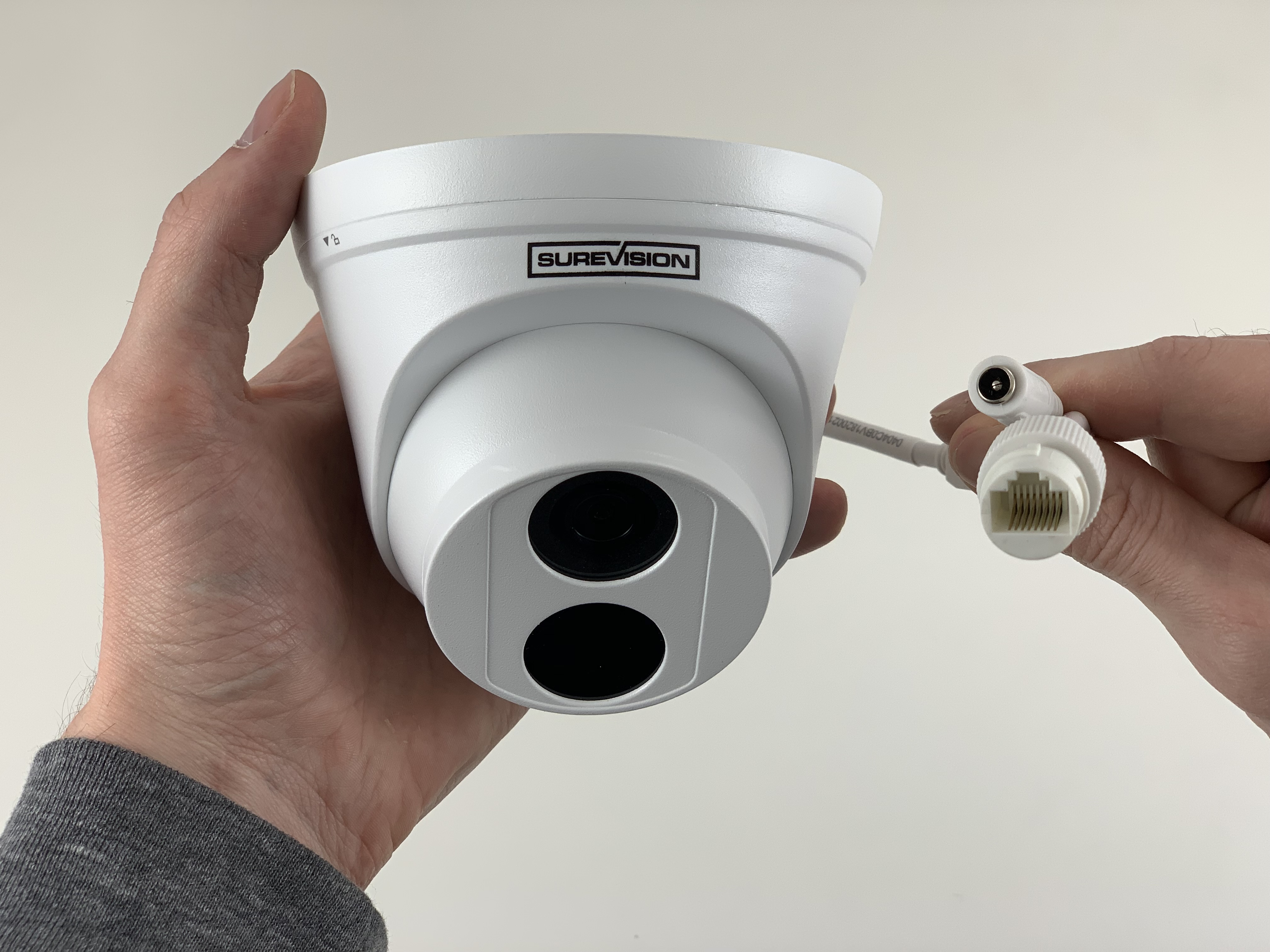 Dome IP 4MP Security Camera with Night Vision