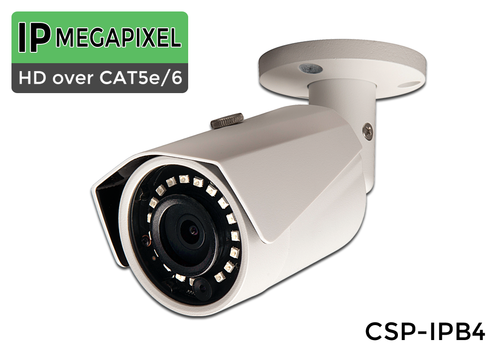 8 Camera 4 Megapixel Bullet IP Security Camera System with Night Vision
