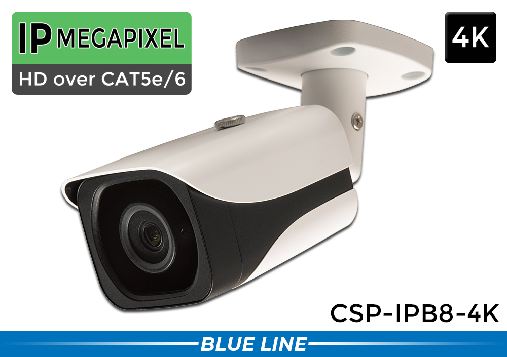 4K Ultra High Defintion 8 MP IP Infrared Bullet Security Camera with Night Vision
