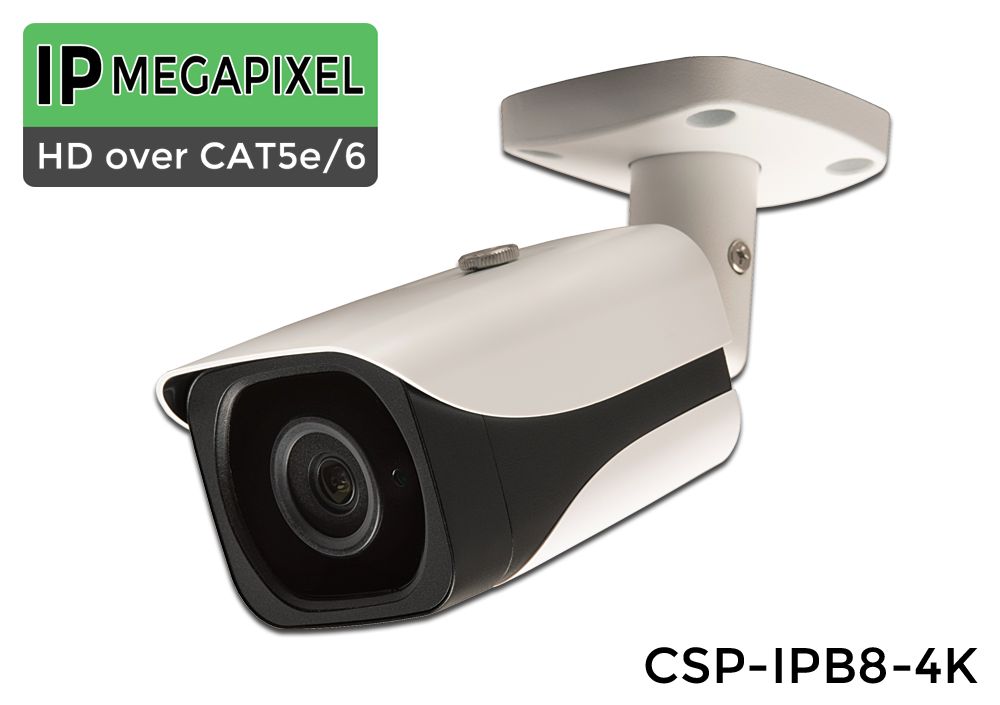 ULTRA HD 4K POE 8 Camera Indoor/Outdoor  IP 8 Megapixel Bullet IP Camera System