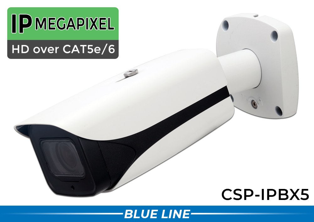 5MP Long Range IR Bullet / License Plate Camera with 7-35mm Lens and Infrared Night Vision