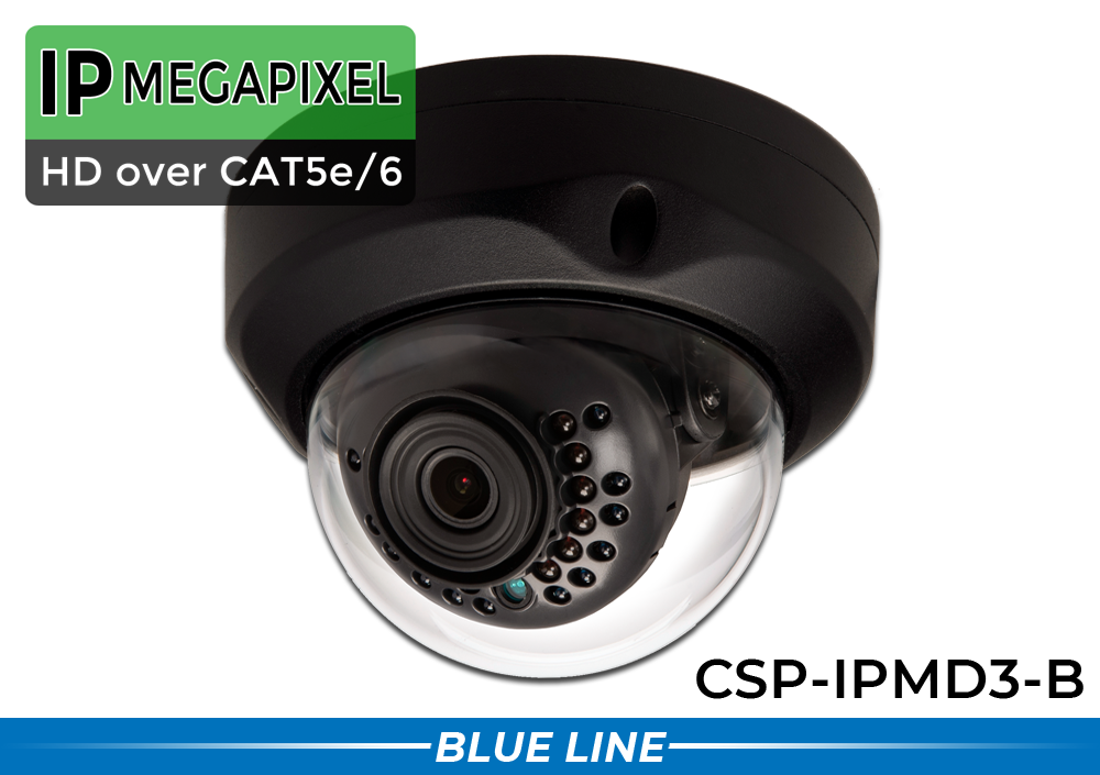 IP Dome Surveillance Video Camera