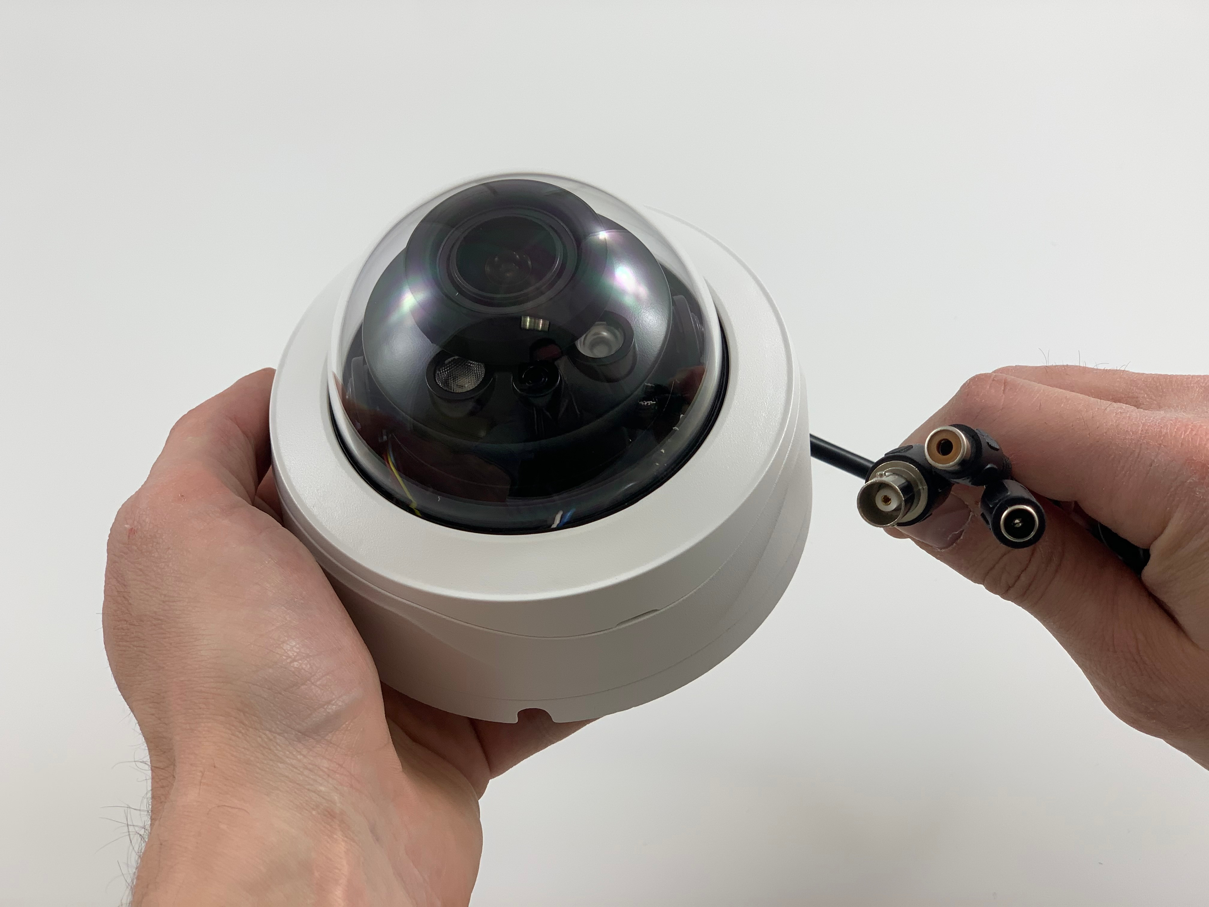 HD Security Camera - 5 Megapixel Dome with Adjustable Zoom