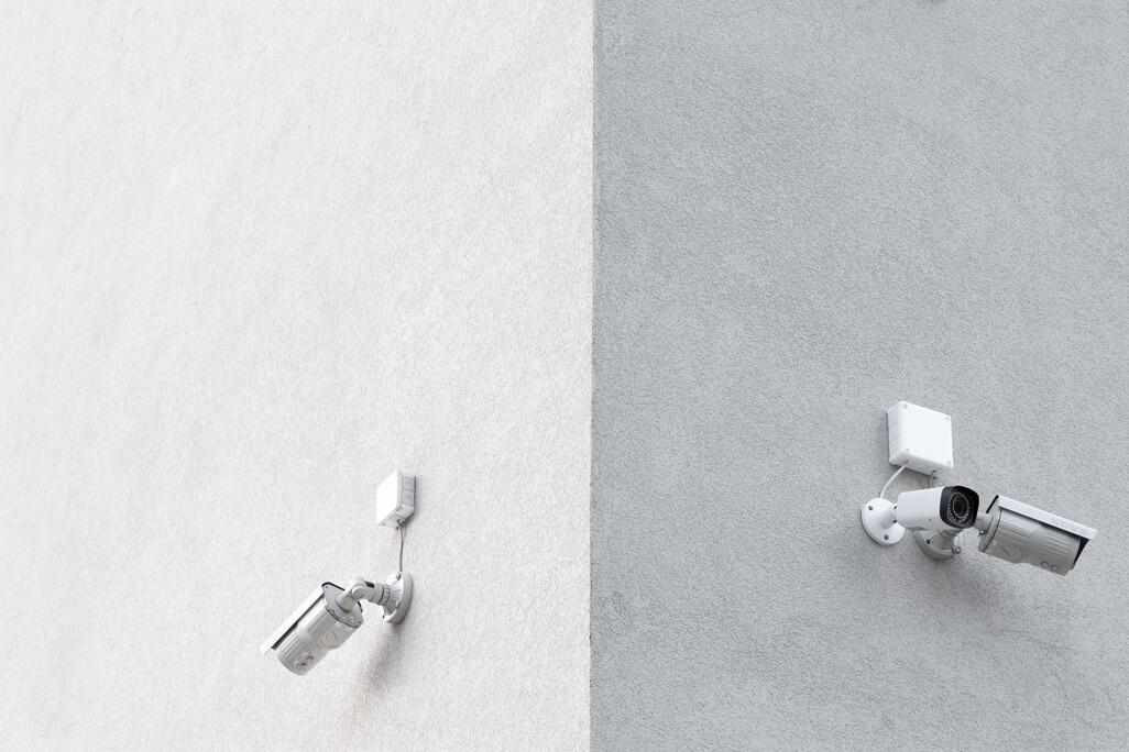 Wall-Mounted Security Cameras