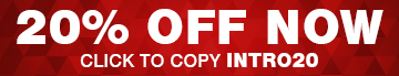 20% Off Now - Use Code INTRO20