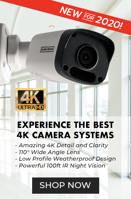 The Best 4k camera system - New for 2020