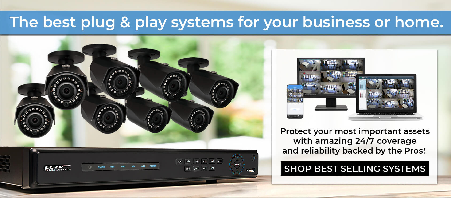 The best plug & play systems for your business or home
