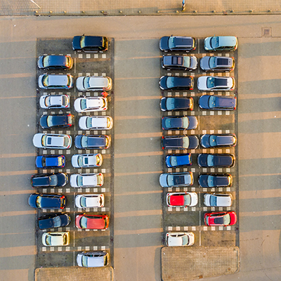 Professional-grade surveillance system for Parking Lots