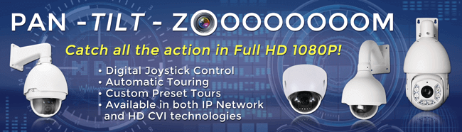 PTZ IP Cameras | Upgrade Your Security at CCTV Security Pros