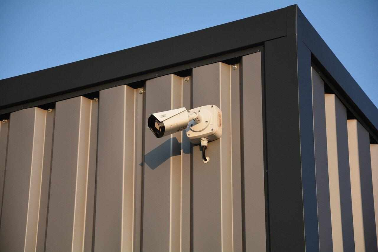 outdoor security monitoring with a single camera