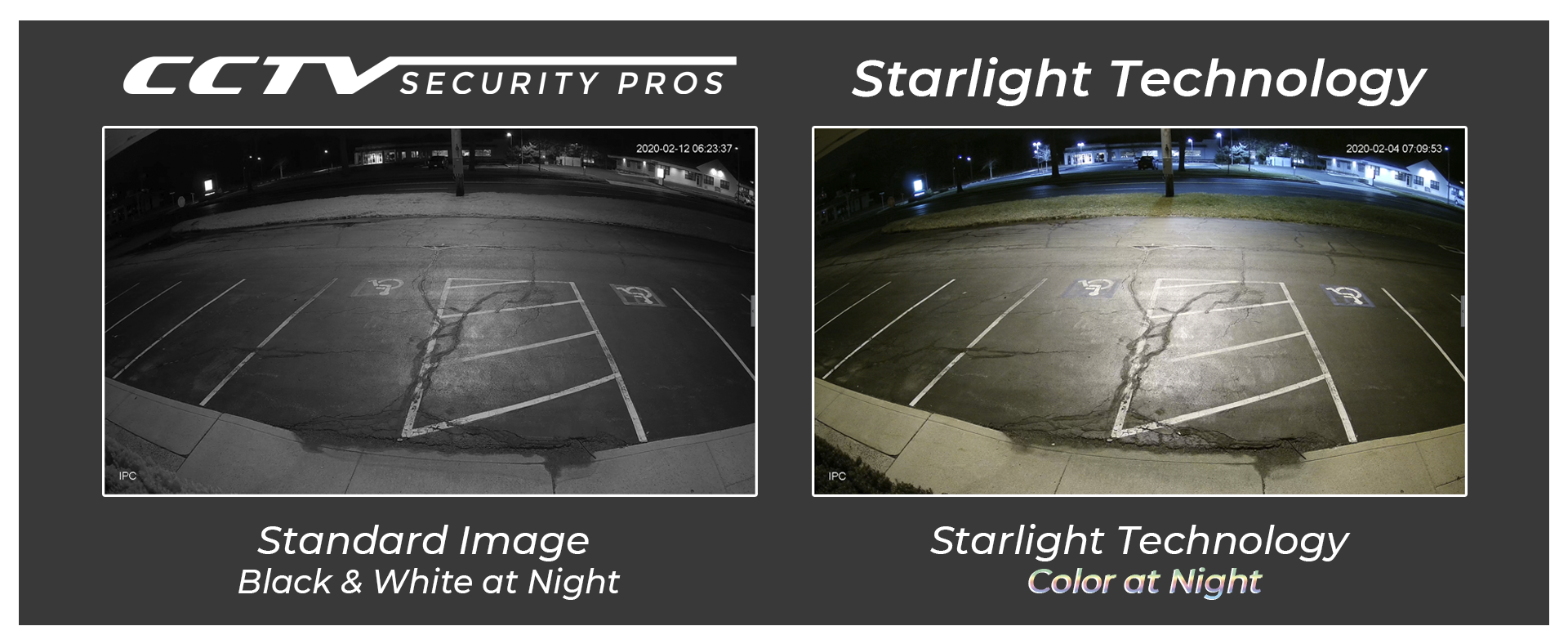 New Starlight Cameras with Color vs black & white at Night