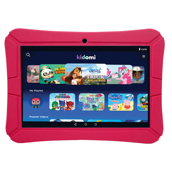 "Highq EPIK Learning Tab Kids (Wi-Fi) 8"" Tablet 16GB Flash Android OS Red 