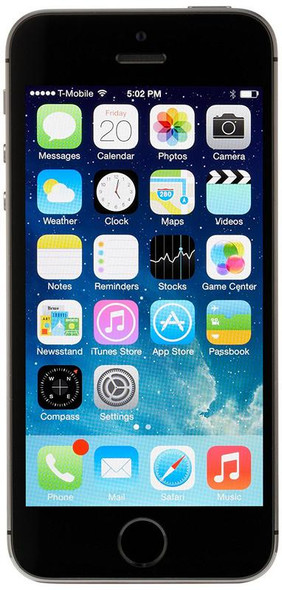 Apple iPhone 5s Black Smartphone 16GB Flash - Verizon