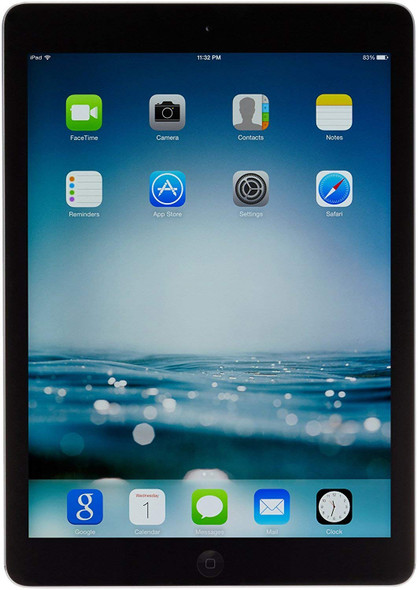 "Apple iPad Air (Wi-Fi) 9.7"" Tablet 1GB Ram 16GB Flash iOS Black"