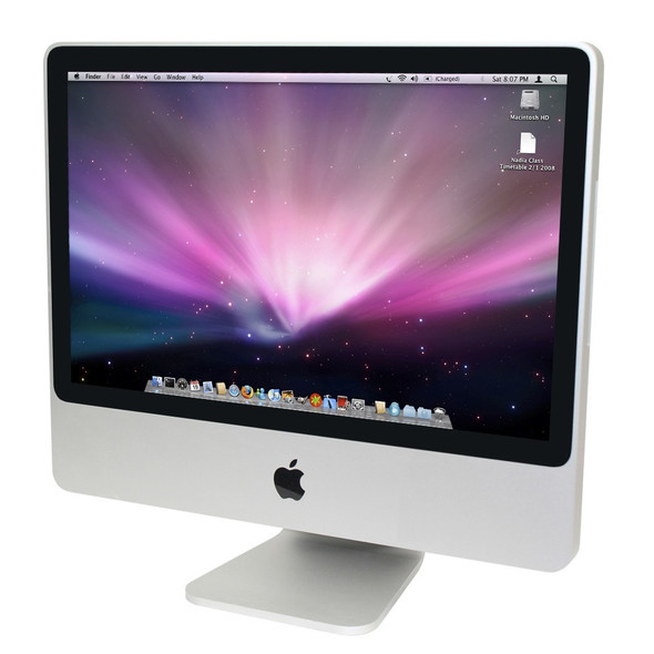 Apple iMac AIO Intel C2D 2.00 GHz 2GB Ram 250GB MAC OS X