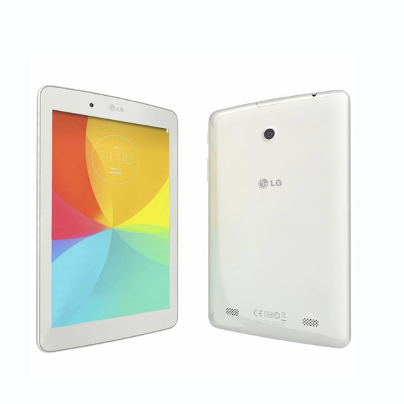 """Lg G Pad (Wi-Fi) 8"""" Tablet 16GB Flash Android OS White   Refurbished"""