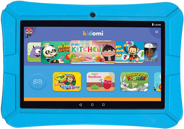 """Highq HighQ Learning (Wi-Fi) 8"""" Tablet 8GB Flash Android OS Blue 