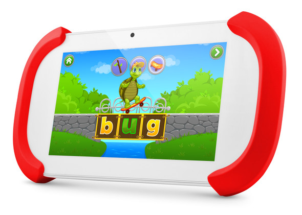 """Ematic Ematic FUNTAB3  (Wi-Fi) 7"""" Tablet 8GB Flash Android OS Red 