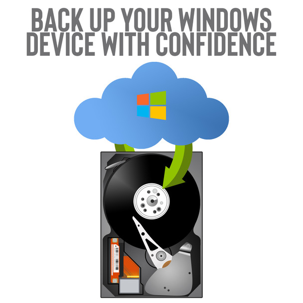 Back Up Service - Back up your Windows Device with Confidence