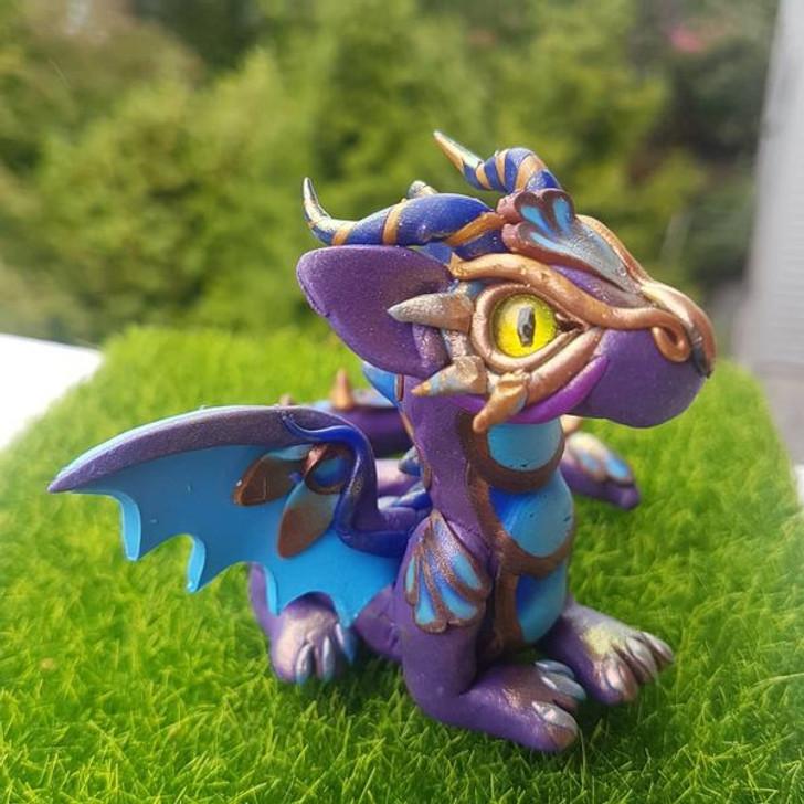 Baby Dragon Purples Golden