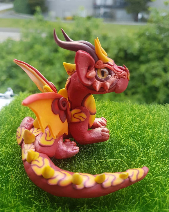 Baby Dragon Fire Red