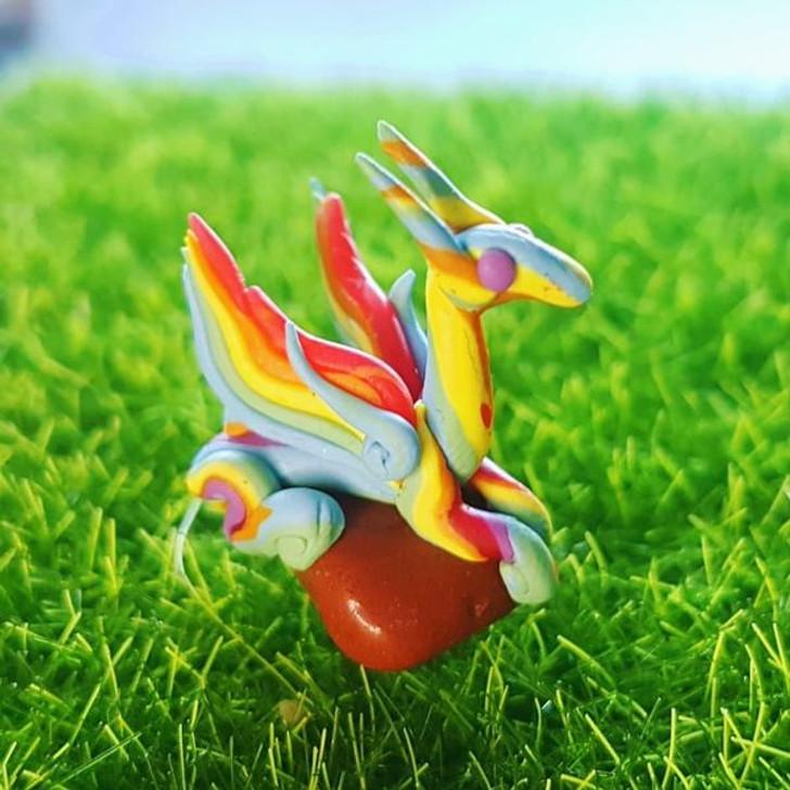 Mini Rainbow Dragon  RedJasper