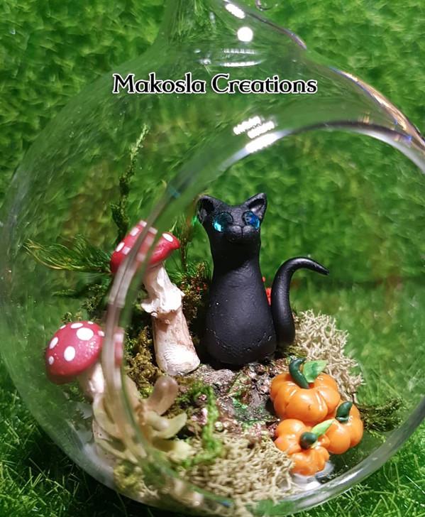 Kitty Cats Terrarium Ornament 2