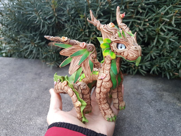 Baby Forest Dragon Custom Order