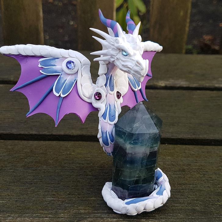 Flourite Dragon Guardian
