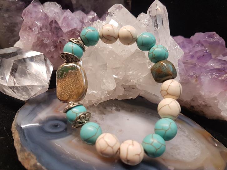 Howlite Stones Bracelet (s)