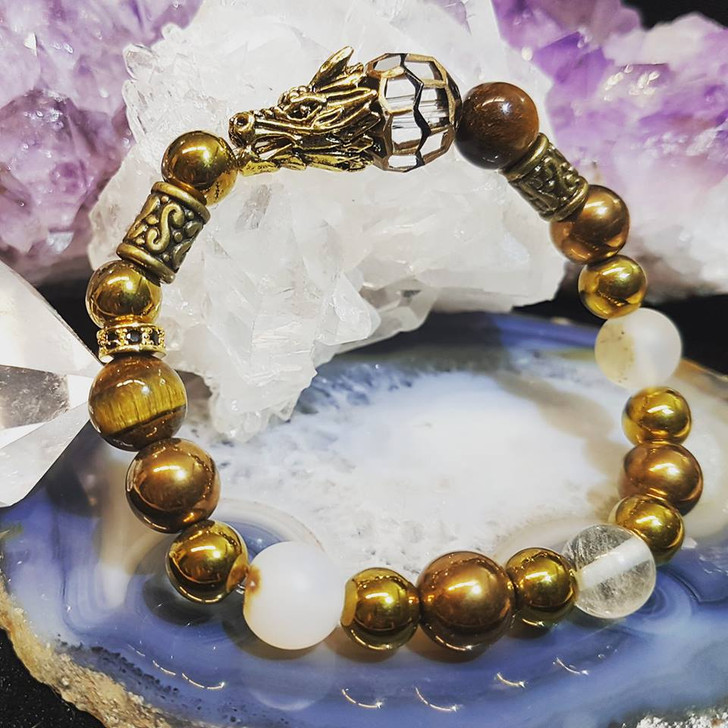 Golden Dragon Bracelet (M)