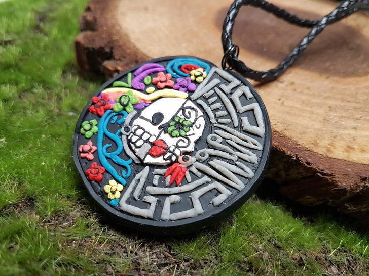 Death Mexican Pendant