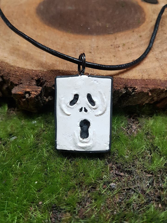 Scream Mask Pendant