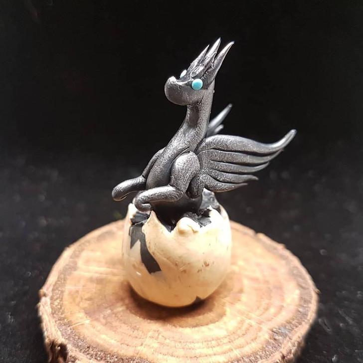 Black Baby Dragon Hatching #2