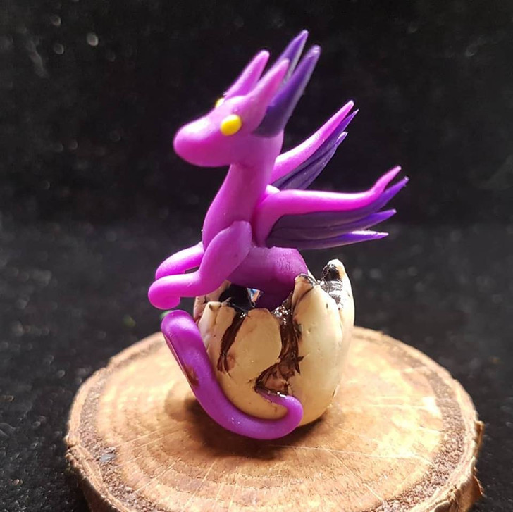 Purples Baby Dragon Hatching