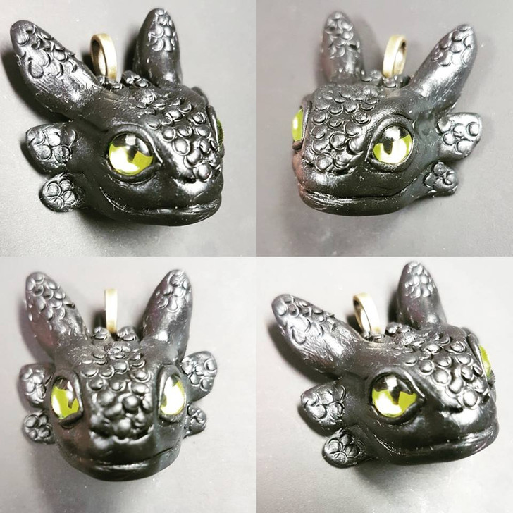Toothless Pendant