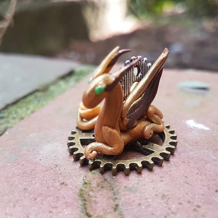 Mini Dragon Steampunk