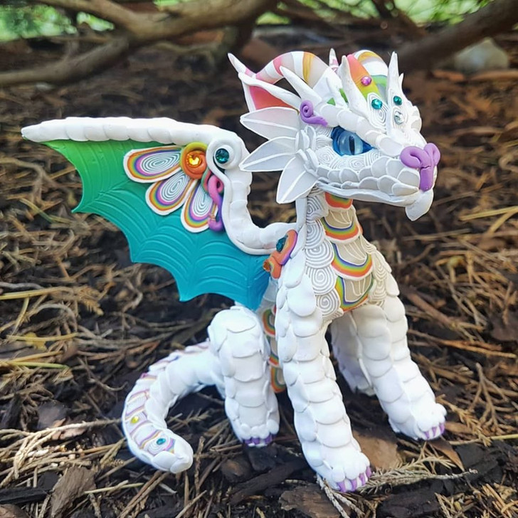 Rainbow Baby Dragon Custom Order