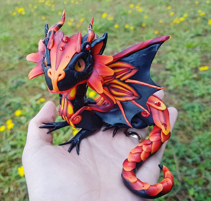 Special Edition  Fire Baby Dragon