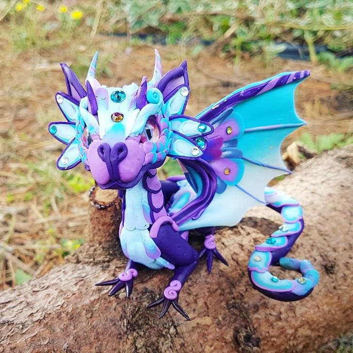 Special Edition Purple  Baby Dragon