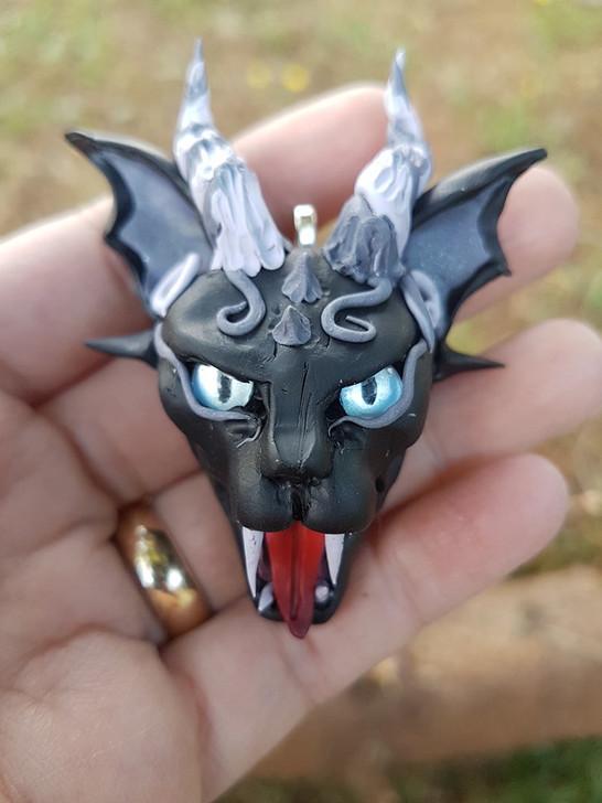 Vampire Cat Pendant